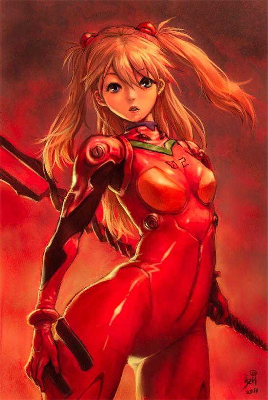 Evangelion - Asuka by kizhod