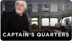 "Captain Paul Watson's SOS – Save Our Skipper Call to Action! Online Visual Petition Begins July 9; Day of Action To Be Held July 20 To protest Captain Watson's pending extradition and urge his release, Sea Shepherd is calling upon its supporters the world over to participate in an Online Visual Petition and Day of Action.  We want you to visually answer one of the following questions:  ""Why is Captain Paul Watson important to our planet?"" or ""Why does Sea Shepherd matter to you?"""