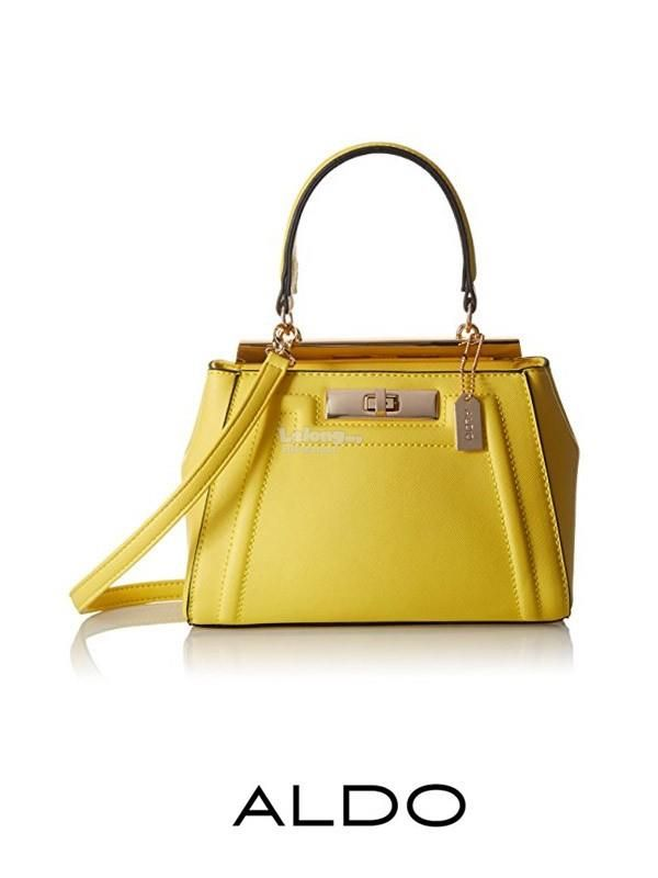 ALDO TOP HANDLE SMALL SATCHEL (YELLOW). Find this Pin and more on 26. bags  ... eed6448cbdb