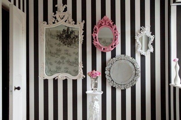 Specchi eccentrici - Per un arredamento eccentrico, scegliete degli specchi eccentrici e divertenti