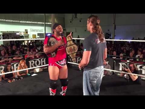 Kevin Kelly interviews Stevie Richards & its interrupted by Jay Lethal - 8/29/15 Atlanta, Ga - YouTube