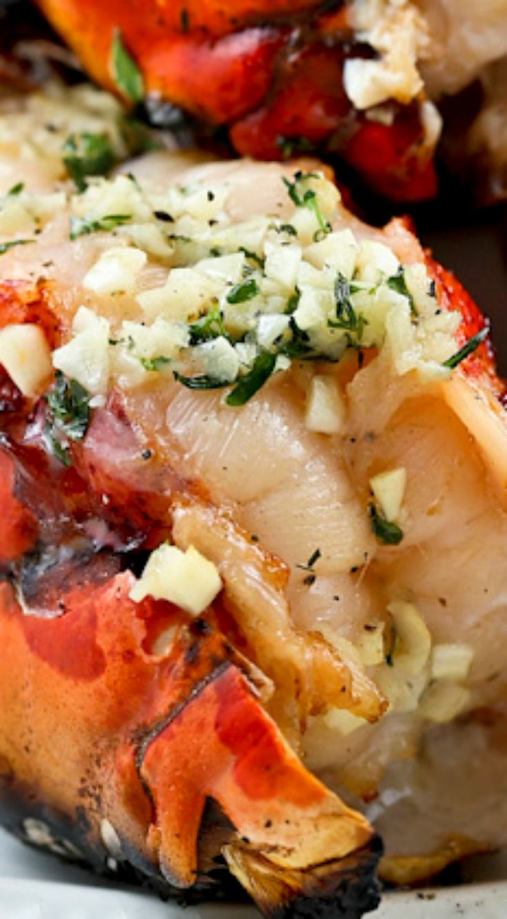 Grilled Lobster Tails ~ Only minutes to prepare and absolutely delicious hot off the grill.