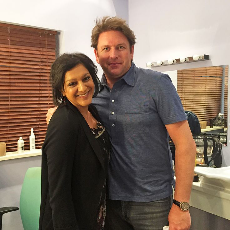 Meera Syal was live on Saturday Kitchen this morning with celebrity chef and host James Martin alongside Michelin star chefs Jason Atherton and Pascal Aussignac. More behind the scenes pics on our FB page: https://www.facebook.com/MediaMogulsUK