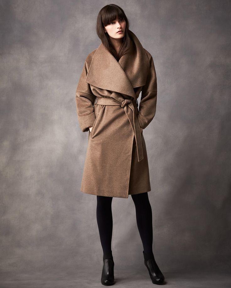 New Season Edit | Neutral Bruna Belted Coat | Phase Eight