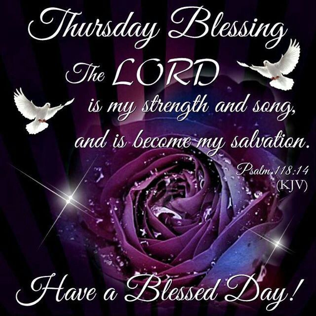 Blessed Day Quotes From The Bible: 17+ Best Images About THURSDAY BLESSINGS On Pinterest