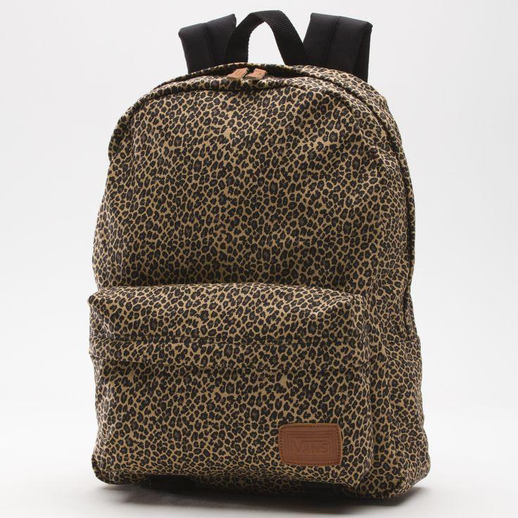 Vans Leopard Deana Backpack