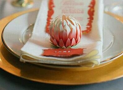 paper protea by AK art and craft
