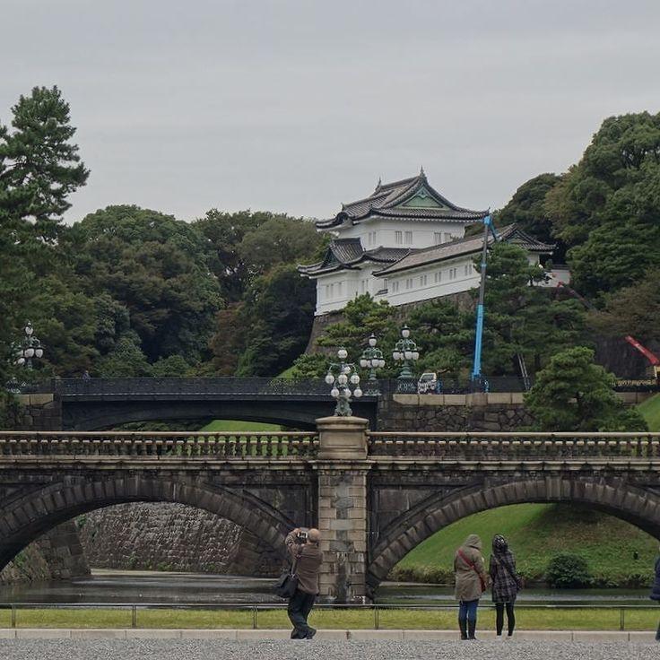 Palácio imperial de Tóquio #Japão