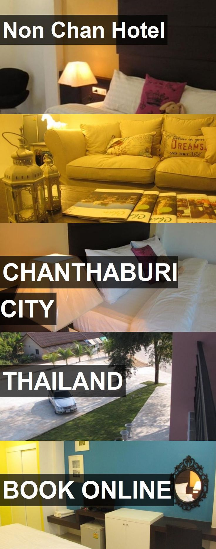 Non Chan Hotel in Chanthaburi City, Thailand. For more information, photos, reviews and best prices please follow the link. #Thailand #ChanthaburiCity #travel #vacation #hotel