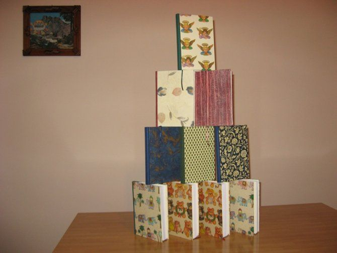10 Quaderni A5 11/12 | Quaderni e diari fatti a mano