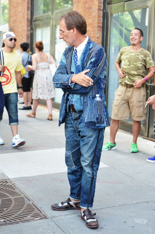 Canadian Tuxedo Swag