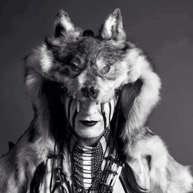 Wolf Headdress Tattoo: Best 25+ Wolf Headdress Ideas On Pinterest