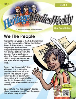 Check out this great Studies Weekly publication. Do we ...