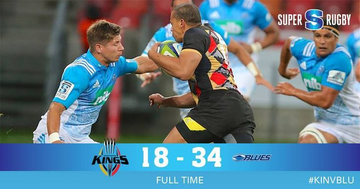 """The Blues secured their third consecutive victory when they outsmarted the Kings 34-18 in Port Elizabeth on Saturday."""