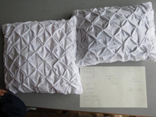 diy pillow shams diy pintuck pillows and pillow shams