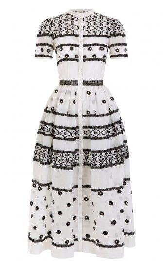 Lizette Organdy Dress