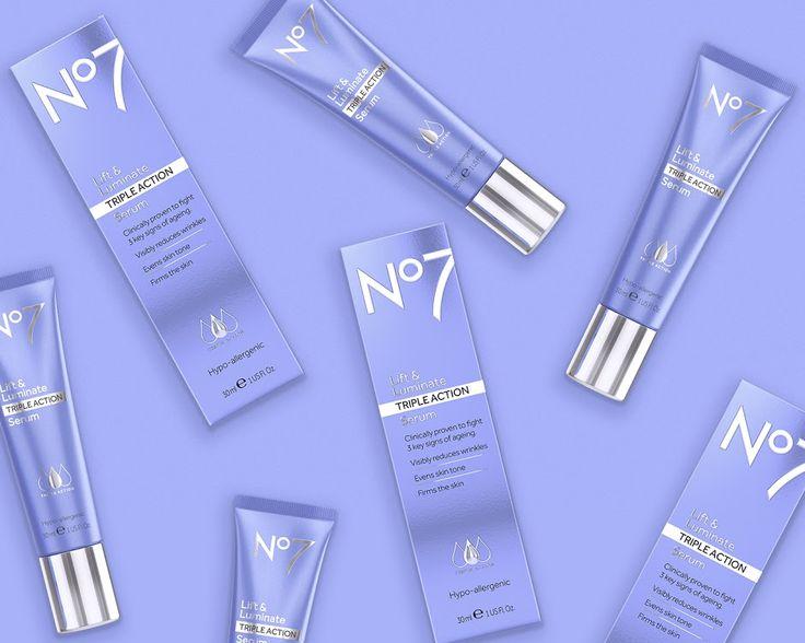 No7 Lift & Luminate betreffende verpakking of the World - Creatief Pakket Design Gallery