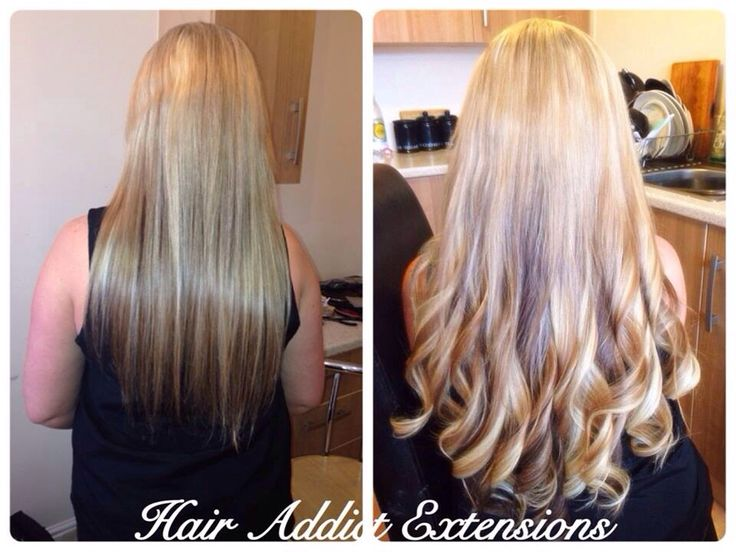 Prestige Micro Ring Hair Extensions Added For Thickness By