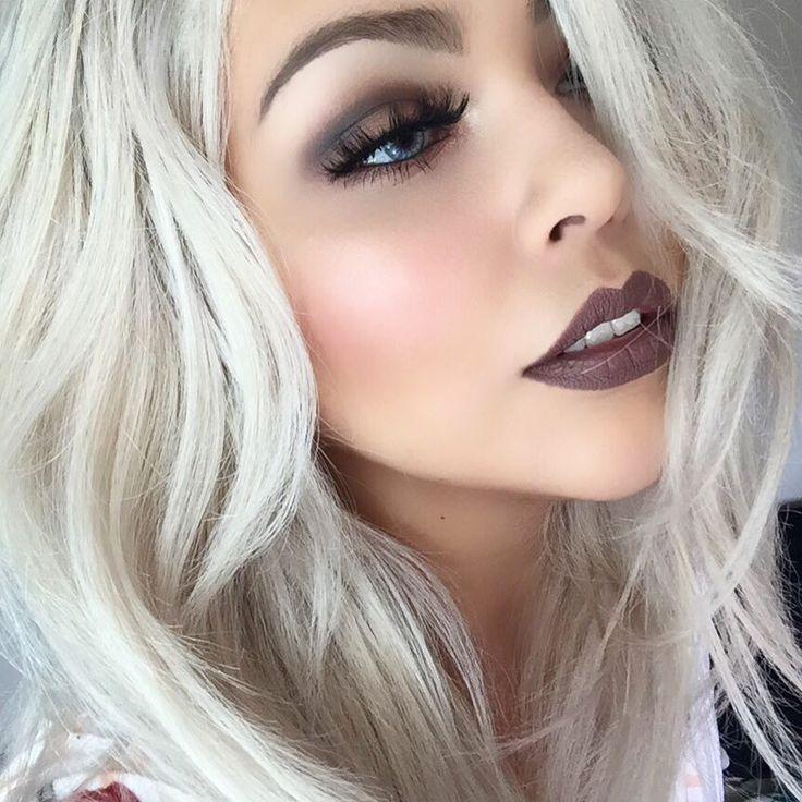 Anastasia Beverly Hills liquid lipstick Sepia - http://ninjacosmico.com/35-grunge-make-up-ideas/