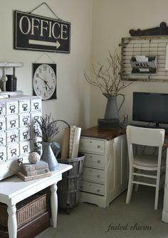 1000 Ideas About Farmhouse Office On Pinterest Office