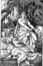 viking norse god hel name