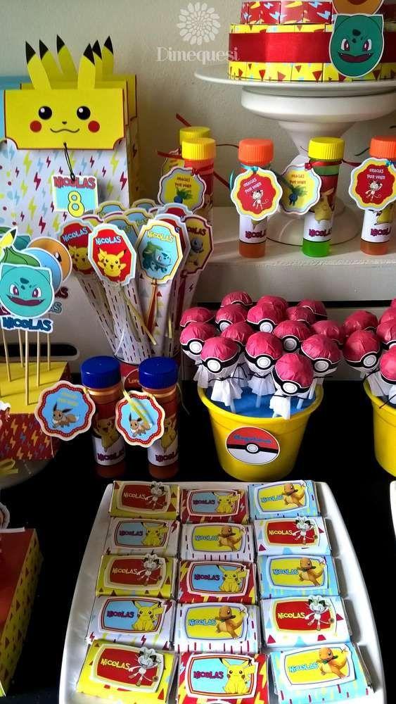 Pokemon Birthday Party | CatchMyParty.com