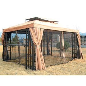 10 X 13 Rust Free Gazebo Outdoor Spaces