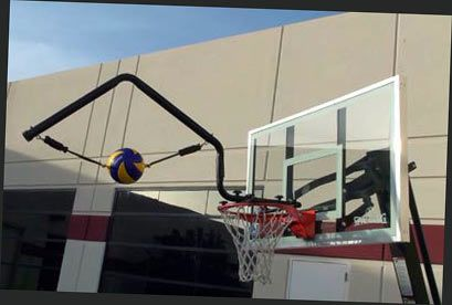 Volleyball Spike Trainer. Model # VST-200 (For height adjustable basketball systems)