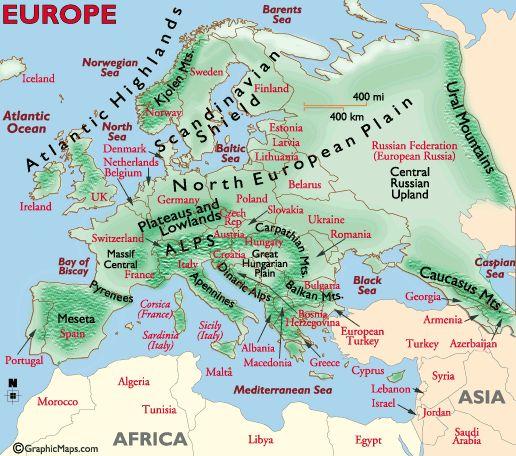 european mountains (C2; W6)