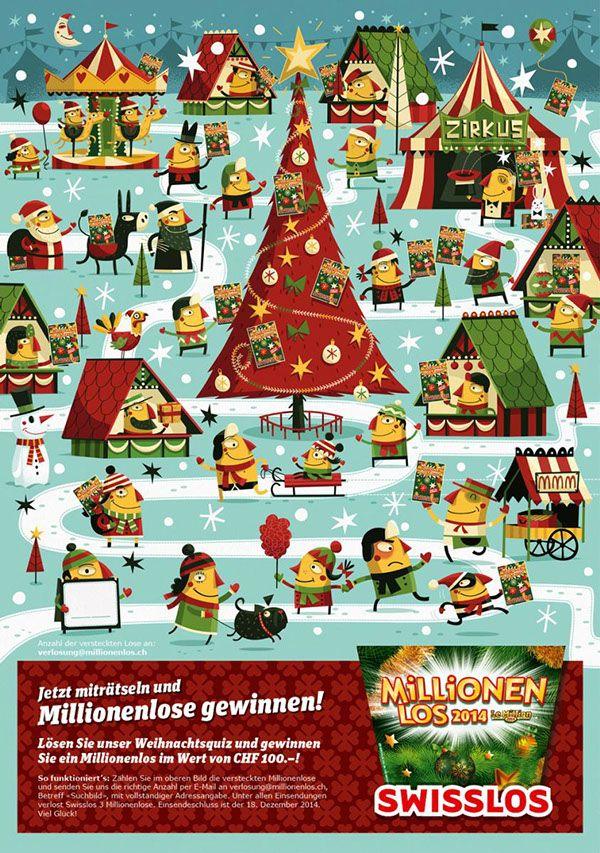 Millionenlos Swisslos Christmas by Steve Simpson