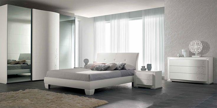 Spar Modern Italian Bed / Bedroom Set Lux 03 - $2,199.00
