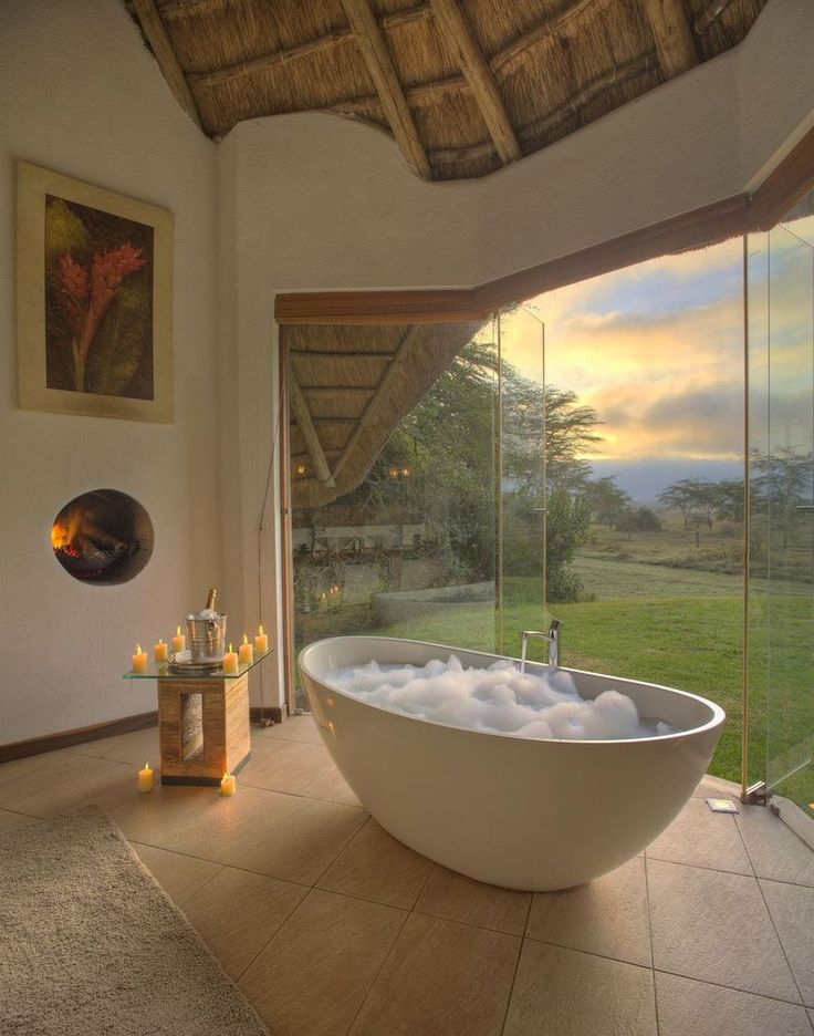 Luxury Lodge Bathroom