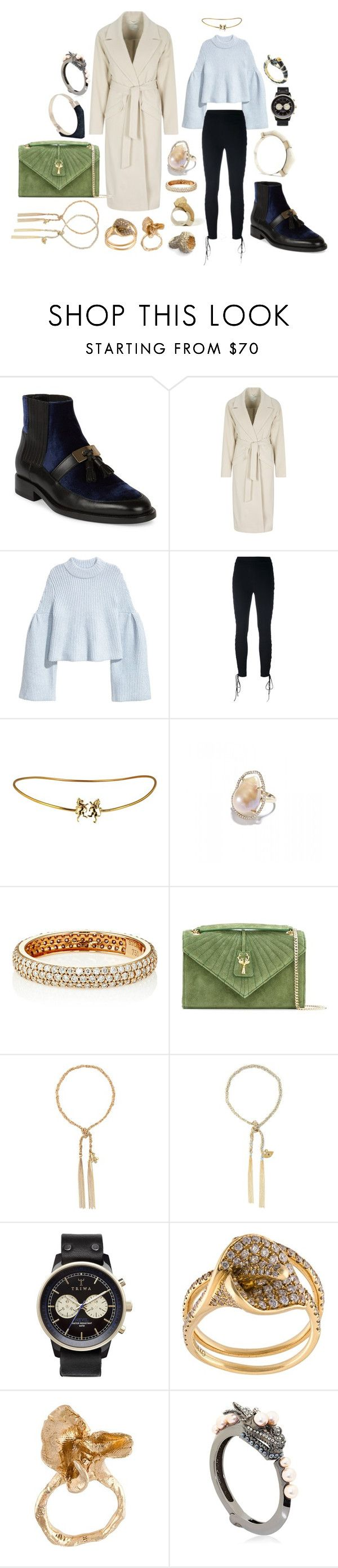 """""""Some people never go crazy, What truly horrible lives they must lead."""" by mymind-is-a-warrior ❤ liked on Polyvore featuring Balmain, Oui, Unravel, Jordan Alexander, STONE, Savas, Carolina Bucci, Triwa, Anita Ko and ALICE WAESE"""
