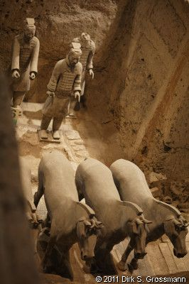 Xi'an, China - Terracotta Army Pit 2