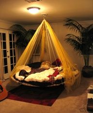 Designer Hanging Bed, Round Bed, Canopy Bed For Sale