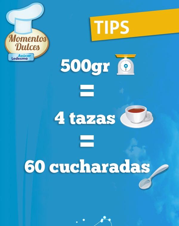 TIPS ÚTILES ¡Medidas y equivalencias de cocina!