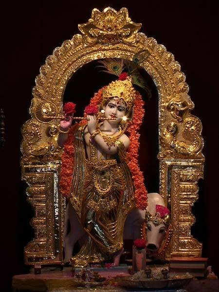 Lord Krishna    Where I live, wherever I exist, Let me be immersed in your stories, For always without break, So that I am blessed with your grace.