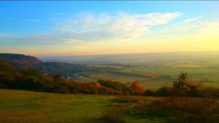 Blue bell hill, north downs kent. Z2 Snapseed glamor glow
