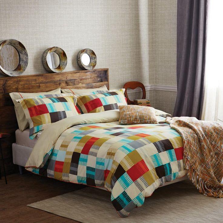 Contemporary Bedding | Scion Navajo Multi Coloured Bed Linen at Bedeck Home