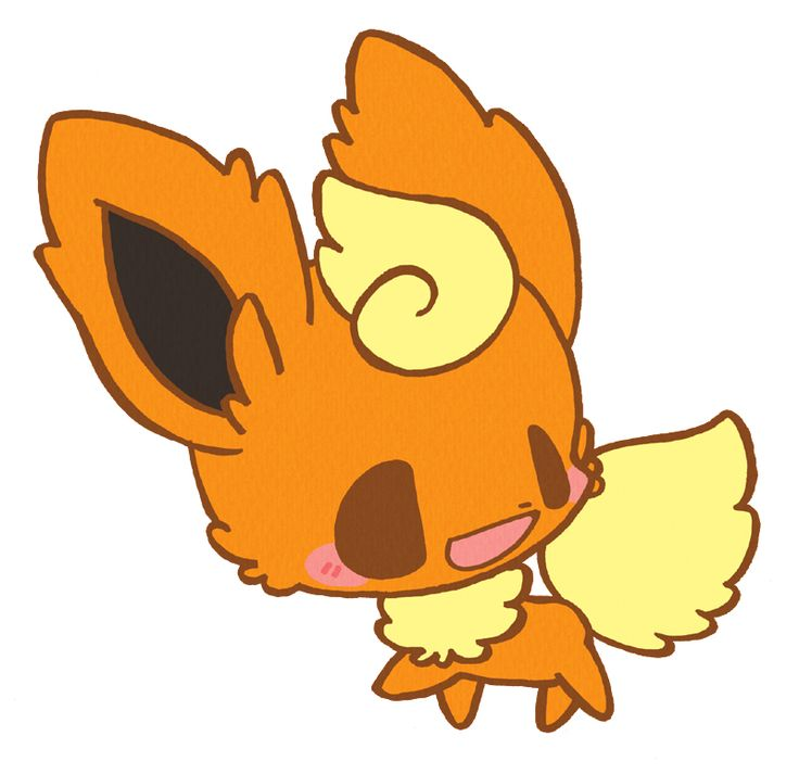 Chibi Eeveelutions | blush chibi eeveelution flareon open ...