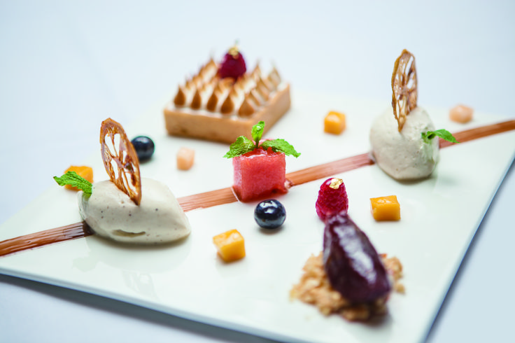 Gourmet desserts - for when you don't know which one to pick. We'll surprise you with our selection of Chef's specials.