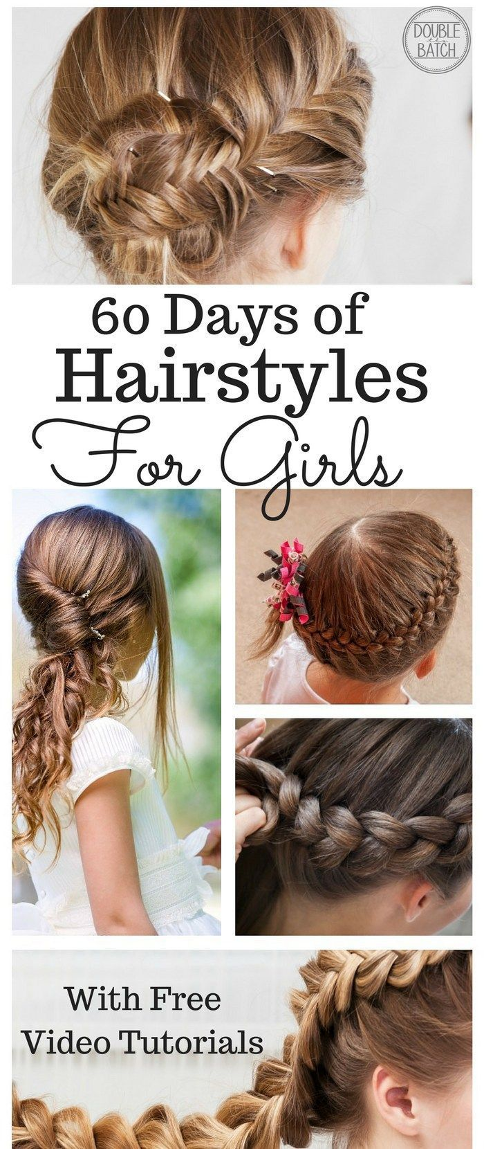 60 Day Of Hairstyles For Little Girls Complete With Tutorials