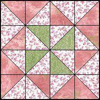 Quilts para ser costurado - Quatro padrões de patch quilt