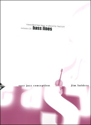 Jamey Aebersold Jazz: Easy Jazz Conception for Bass Lines