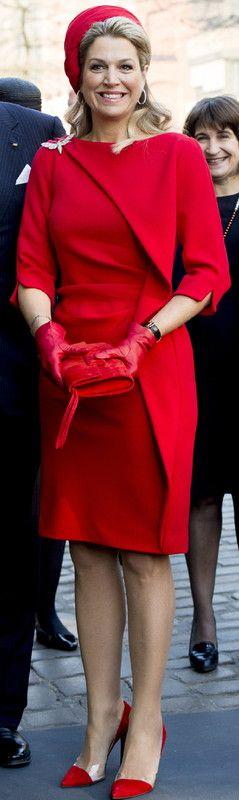Maxima en rouge