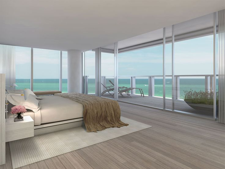 Bedroom concept art from The Residences at The Miami Beach EDITION | By Ian Schrager And John Pawson. #luxury #realestate #miami #miamibeach #southbeach #dreamhome