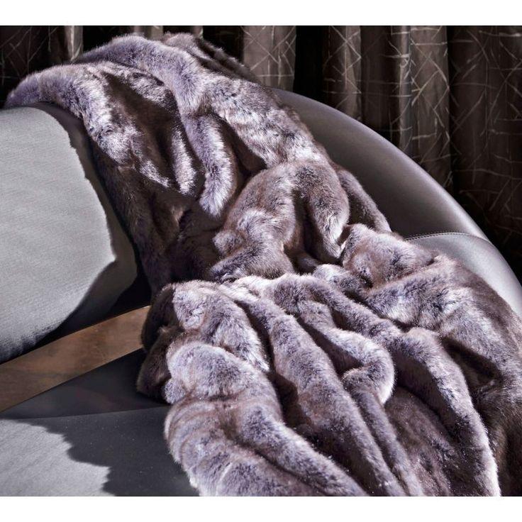 comprar manta de pelo clargo sintetico zinc romo, alta calidad,regalo de alta calidad