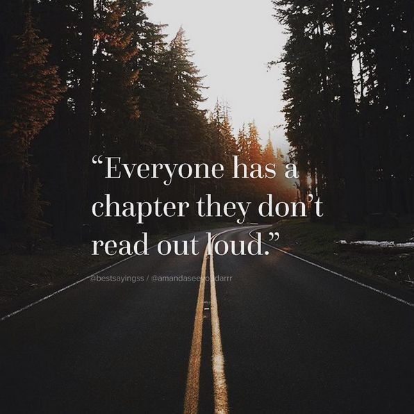 Everyone has a chapter they don't read out loud #travel #quote http://tomislavperko.com/