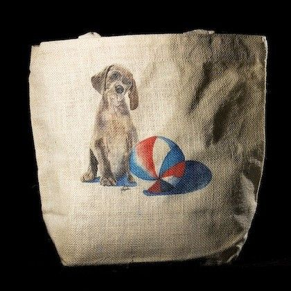 """BOGO free! $5.00 Tote bags! This jute tote bag is an original watercolor from Denver artist Jody O'Meara. Measuring 15"""" x 13"""" - 24"""" Padded Handles - 100% Jute Fiber - Washable - Made, Printed, and Assembled in the USA Usually Ships In 1-4 Business Days"""