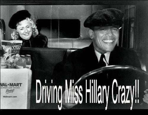 Hillary Clinton Funny Jokes | Political Humor Cartoons & Pictures Jokes & Quotes Obama